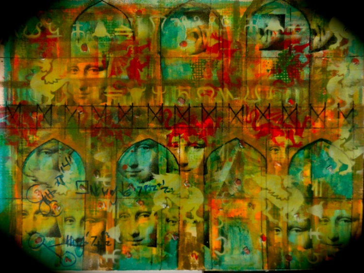 Cheryl Penn Mona Lisa - Artists Book Covers