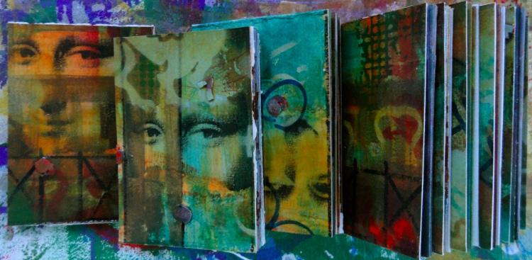 Cheryl Penn Mona Lisa Artists Books