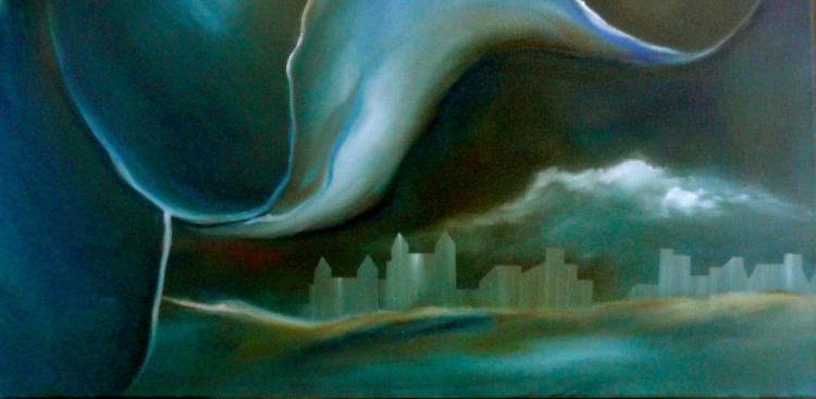 Painting Cheryl Penn City