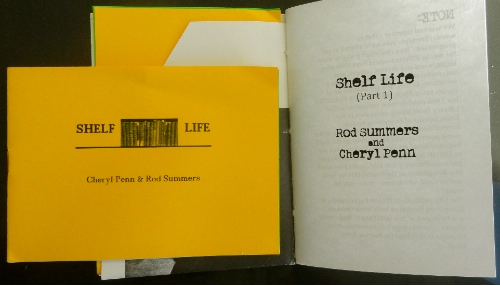 Shelf Life.  Rod Summers:Cheryl Penn. An Encyclopedia of Everything.  Collaborative Writing.