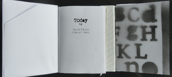 Today. Poetry - David Chirot:Cheryl Penn. An Encyclopedia of Everything
