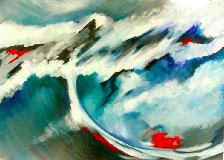 Abstract Painting Cheryl Penn