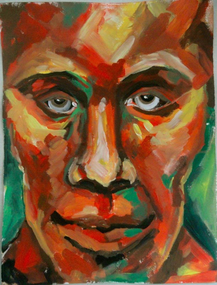 Cheryl Penn Painting 2