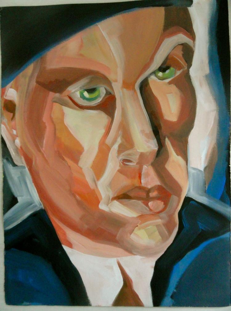 Cheryl Penn. Painting