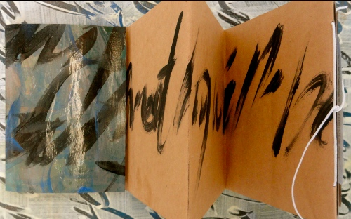 Asemic Writing.  Cheryl Penn.  An Encyclopedia of Everything 2