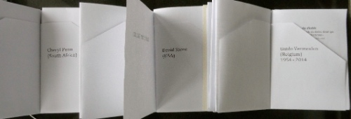 Just for Guido. Cheryl Penn. Artists Book. An Encyclopedia of Everything.