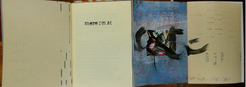 WhereI'm At.Cheryl Penn Artists Book. An Encyclopedia of Everything The Expanded Version