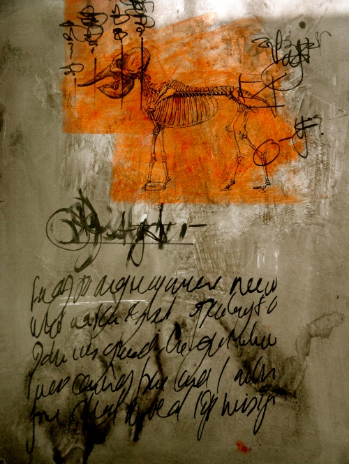 Asemic animal Cheryl Penn 2