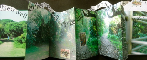 Cheryl Penn. One thousand and one steps.  Limited Artists Book. The New Alexandrina Library