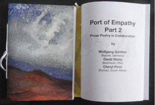 Port of Empathy. Collaborative Writing.Wolfgang Günther (Germany):David Stone (USA):Cheryl Penn (South Africa). An Encyclopedia of Everything. Artists Book.