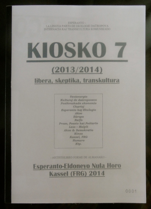 Kiosko 7 - The New Alexandrian Library
