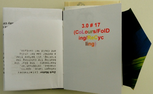 Cheryl Penn 3.0 # 17 (Colours:Folding Recycling). An Encyclopedia of Everything
