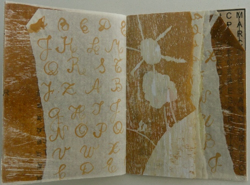 Marcela Peral. 3.0 # 16 (Letters and Alphabets). Artists Book. An Encyclopedia of Everything