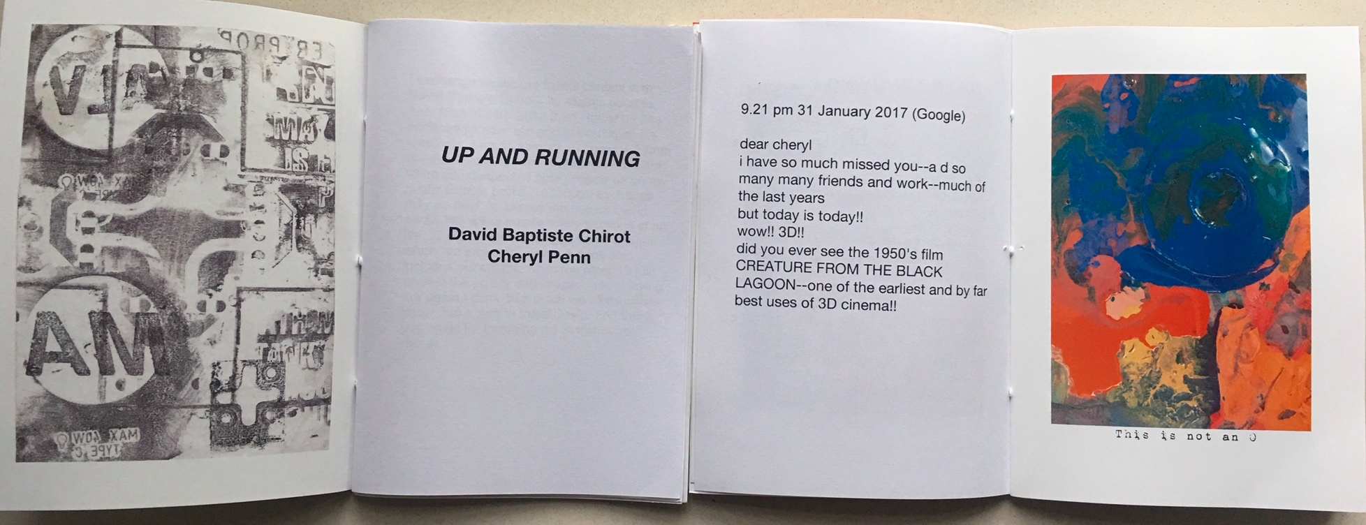 Up and Running: David Baptiste Chirot/Cheryl Penn