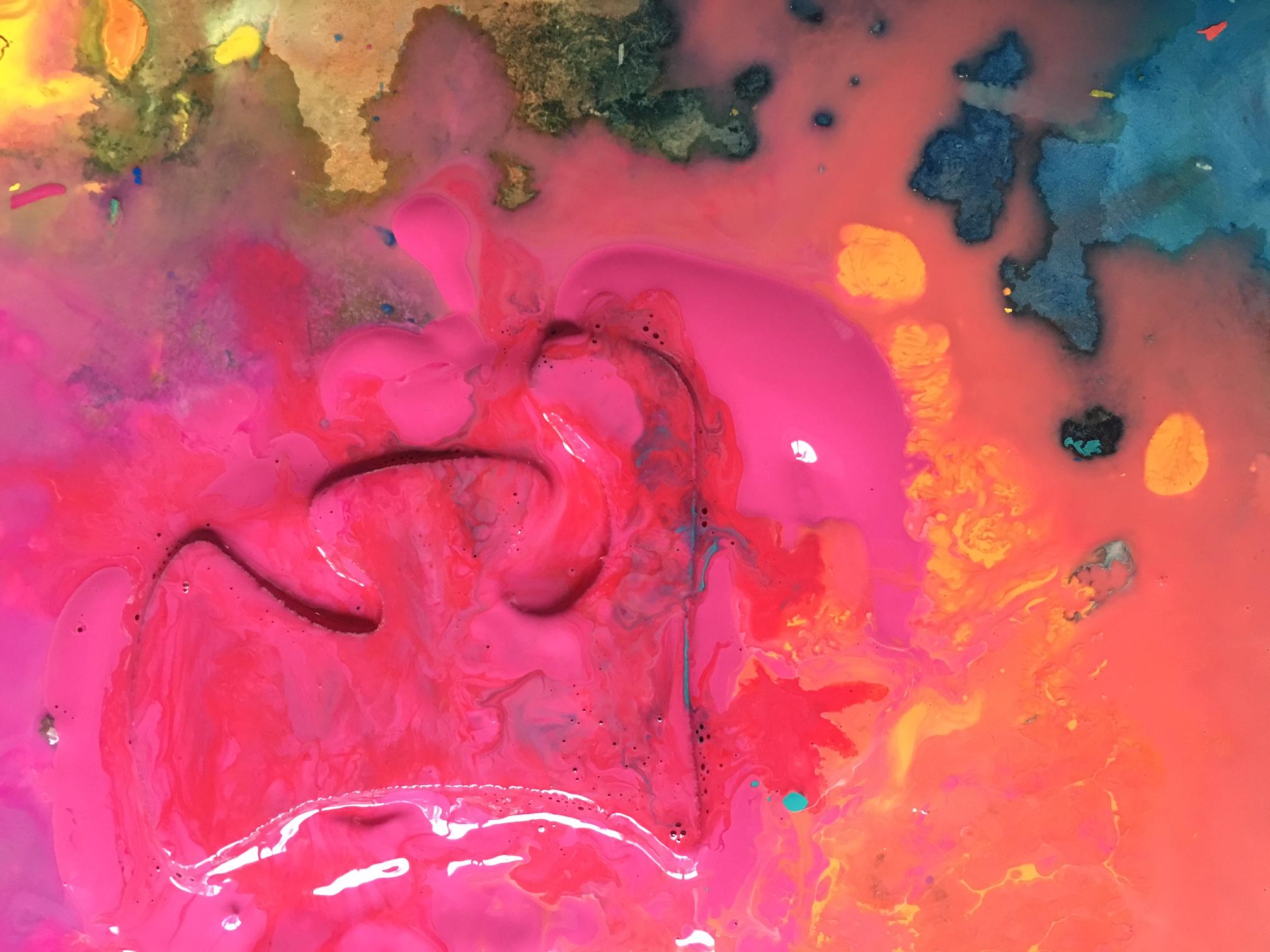 Cheryl Penn Langauge Painting